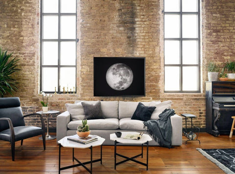 Black Accents Living Room - Wall Art and Decor