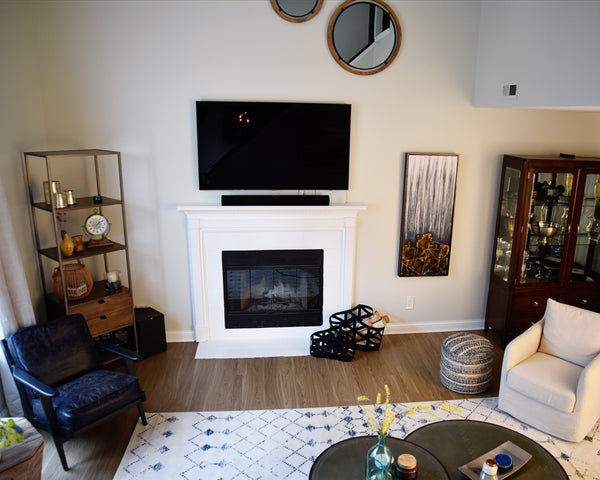 Townhome Living Room Makeover the Results 3
