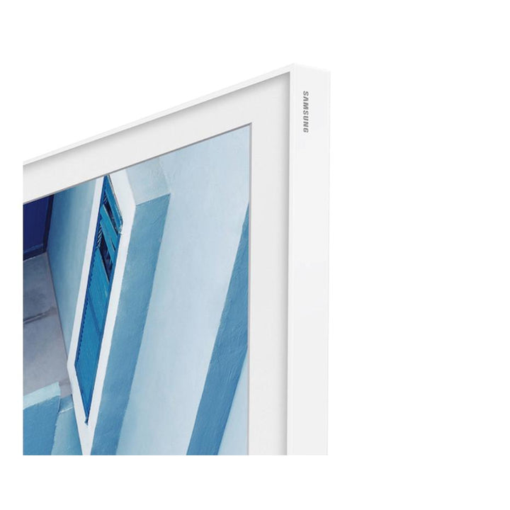"Samsung 75"" The Frame Customizable Bezel - White (2020) 