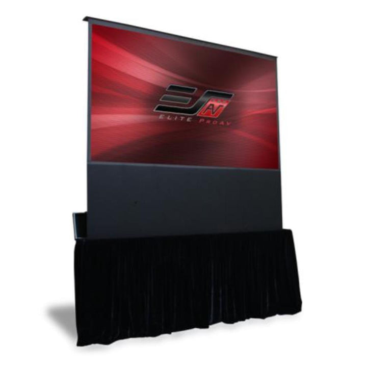 "Elite Screens Elite ProAV® Kestrel Stage 16:9 Portable Stage Electric Motorized Floor-Rising Projection Screen (100"" or 120"" Available)"