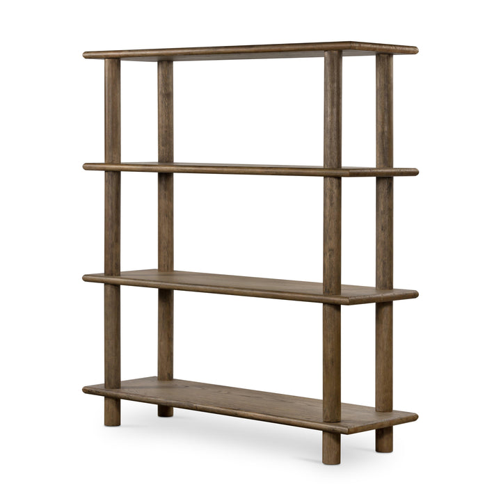 "Mattia 70"" Bookshelf (Toasted Natural)"