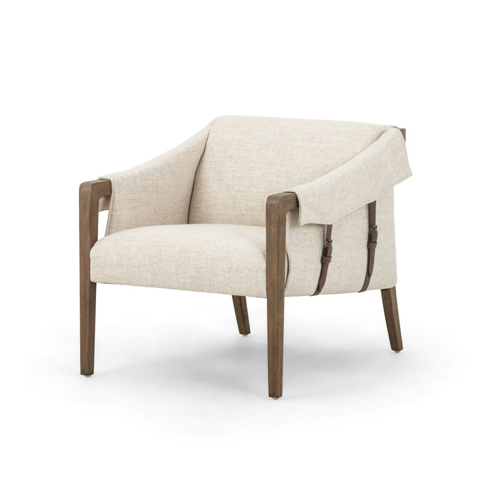 Bauer Cream Chair (Thames Cream) | Accent Chair | parker-gwen