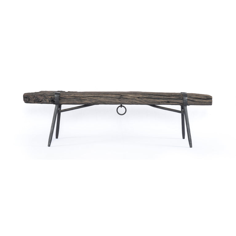 "Sylvie 72"" Rustic Reclaimed Bench"