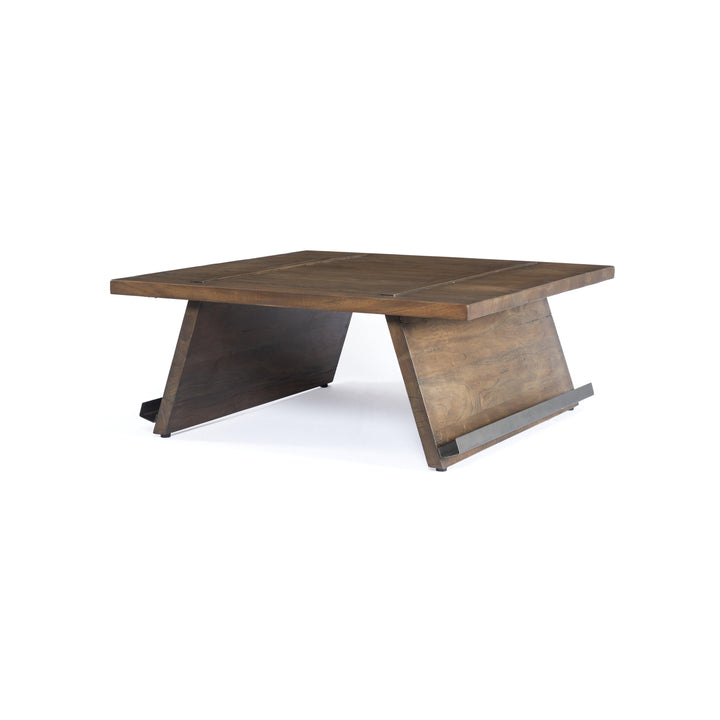 "Arcadia 40"" Reclaimed Coffee Table (Tanner Brown)"