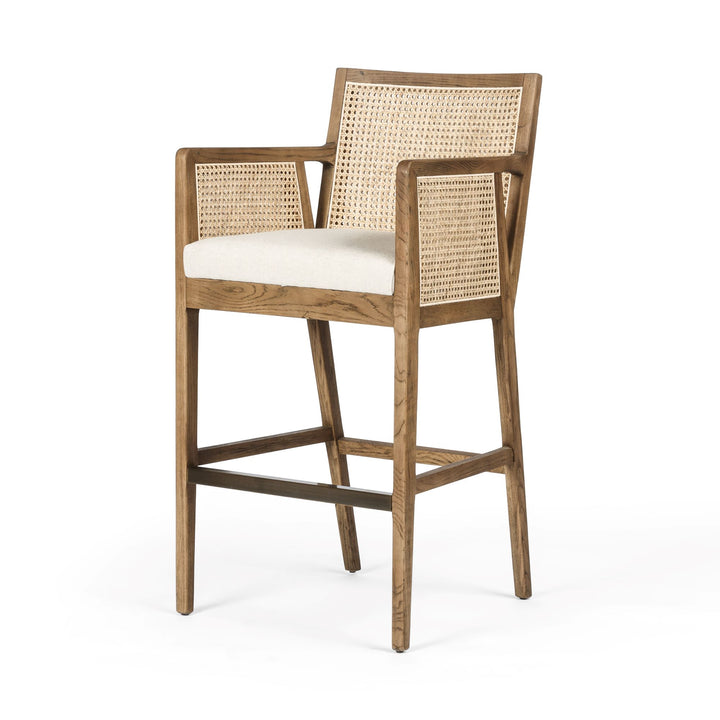 Antonia Cane Counter or Bar Stool (Toasted Nettlewood)