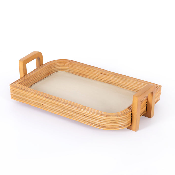 Claire Rattan Serving Tray