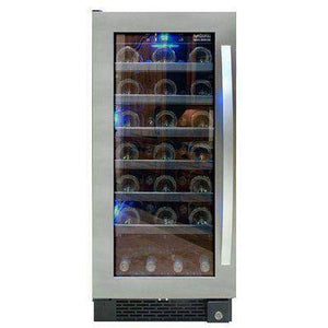 "Vinotemp 15"" Single Zone Wine Cooler-Right Hinge 