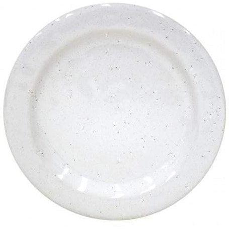 Fattoria Dinner Plate: Set of 6 (White)-Plate-Parker Gwen
