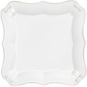 Vintage Port Square Bread Plate: Set of 4 (White)