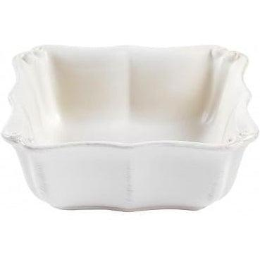 Vintage Port Square Soup/Cereal Bowl: Set of 6 (White) | Bowl | parker-gwen