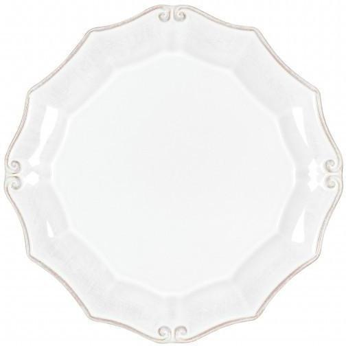 Vintage Port Round Salad Plate: Set of 6 (White) | Plate | parker-gwen