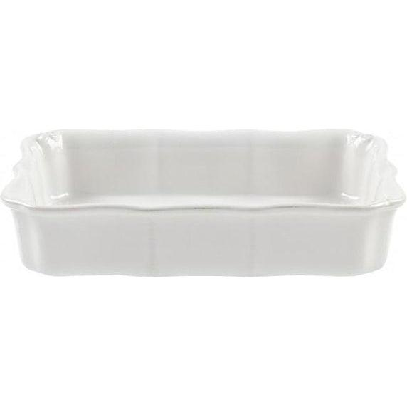 Vintage Port Small Rectangular Baking Dish (White) | Bakeware | parker-gwen