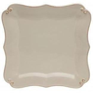 Vintage Port Square Bread Plate: Set of 4 (Cream)
