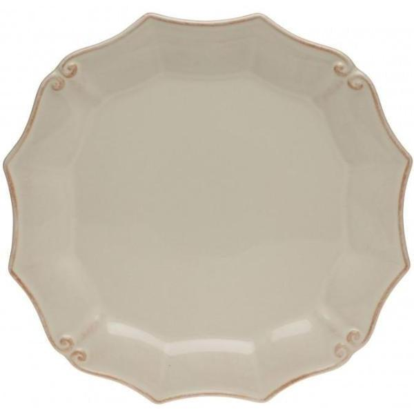 Vintage Port Round Dinner Plate: Set of 6 (Cream) | Plate | parker-gwen