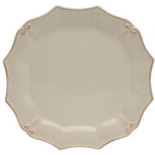 Vintage Port Round Salad Plate: Set of 6 (Cream) | Plate | parker-gwen