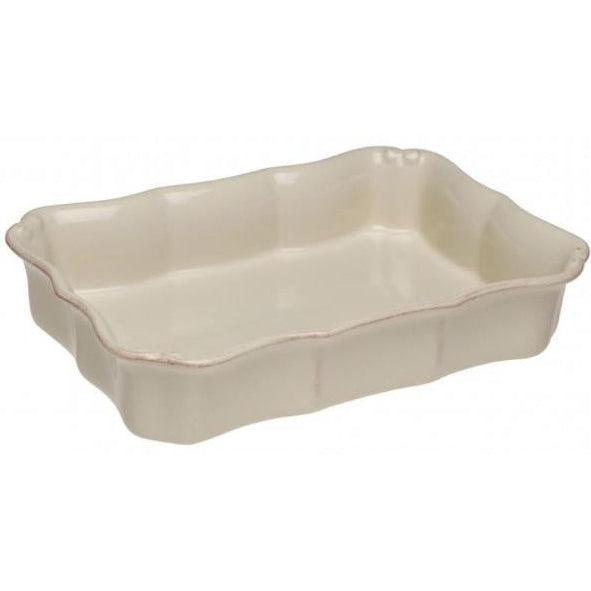 "Vintage Port Rectangular Baking Dish 14"" x 9.5"" (Cream) 