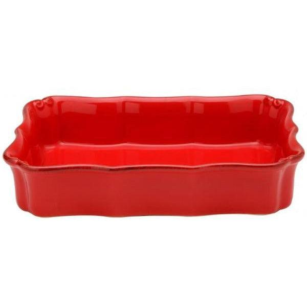 "Vintage Port Rectangular Baking Dish 14"" x 9.5"" (Red)-Bakeware-Parker Gwen"