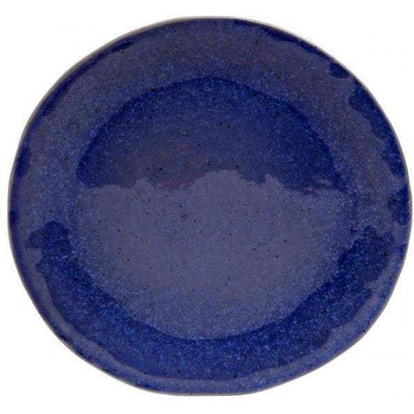 "Sausalito 10.75"" Dinner Plate: Set of 4 (Blue)-Plate-Parker Gwen"