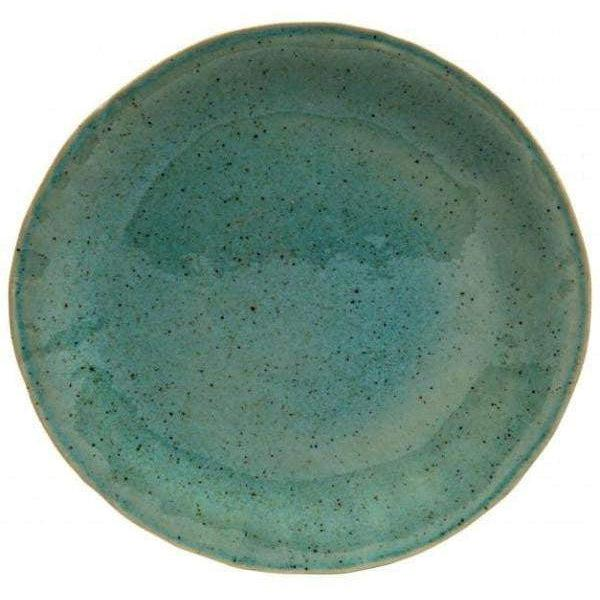 "Sausalito 10.75"" Dinner Plate: Set of 4 (Green)-Plate-Parker Gwen"