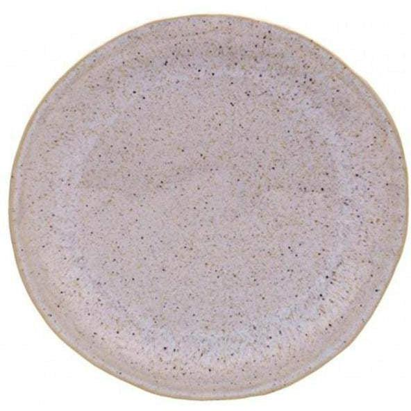 "Sausalito 10.75"" Dinner Plate: Set of 6 (White) - Parker Gwen"