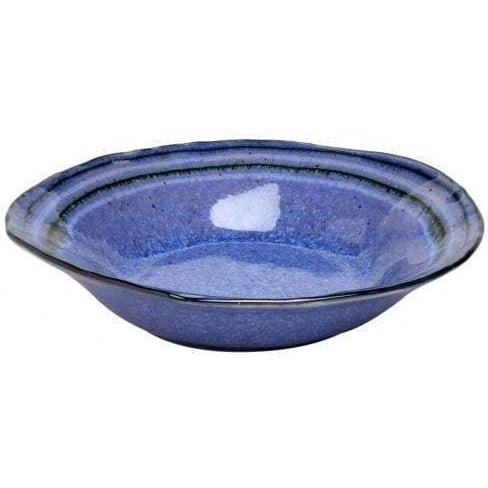 "Sausalito 8.75"" Individual Pasta/Soup Bowl: Set of 4 (Blue)-Bowl-Parker Gwen"