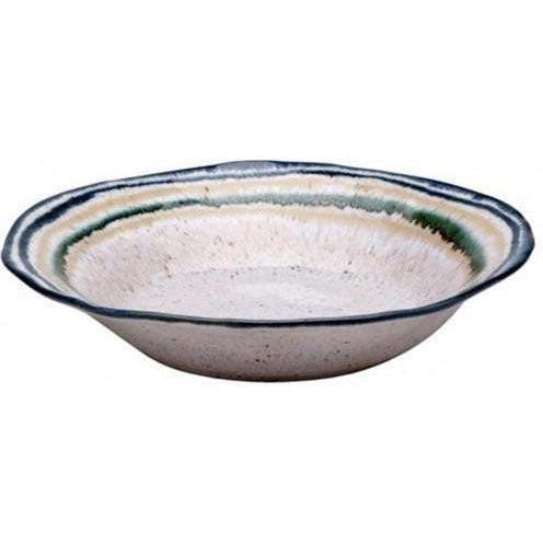 "Sausalito 8.75"" Individual Pasta/Soup Bowl: Set of 4 (White)-Bowl-Parker Gwen"