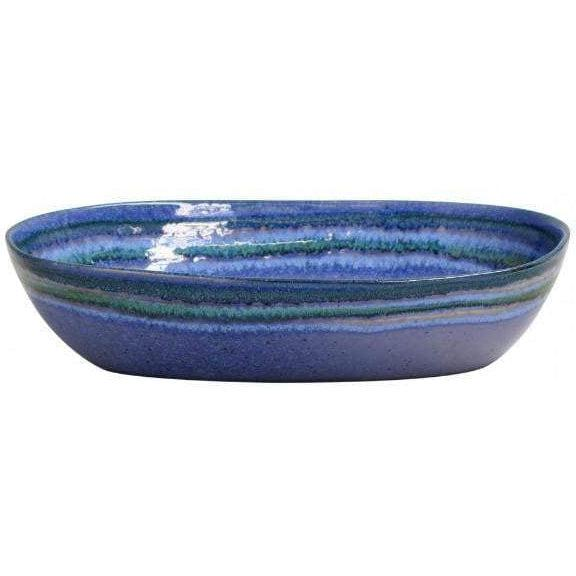 "Sausalito 12.5"" Serving Bowl (Blue)-Serving Bowl-Parker Gwen"