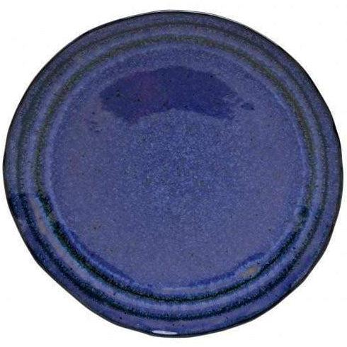 "Sausalito 8.5"" Salad Plate: Set of 4 (Blue)-Plate-Parker Gwen"