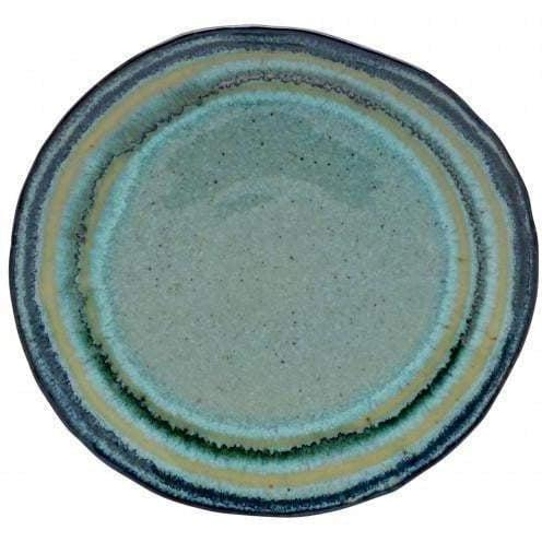 "Sausalito 8.5"" Salad Plate: Set of 4 (Green)-Plate-Parker Gwen"