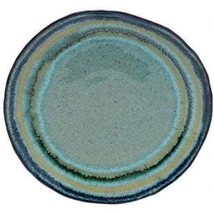 "Sausalito 8.5"" Salad Plate: Set of 6 (Green) - Parker Gwen"
