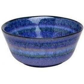 "Sausalito 4.75"" Fruit Bowl: Set of 4 (Blue)-Bowl-Parker Gwen"