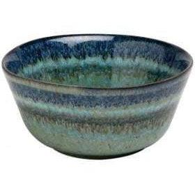 "Sausalito 4.75"" Fruit Bowl: Set of 4 (Green)-Bowl-Parker Gwen"