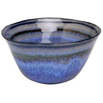 "Sausalito 6"" Soup/Cereal Bowl: Set of 4 (Blue)-Bowl-Parker Gwen"