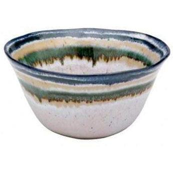 "Sausalito 6"" Soup/Cereal Bowl: Set of 4 (White)-Bowl-Parker Gwen"