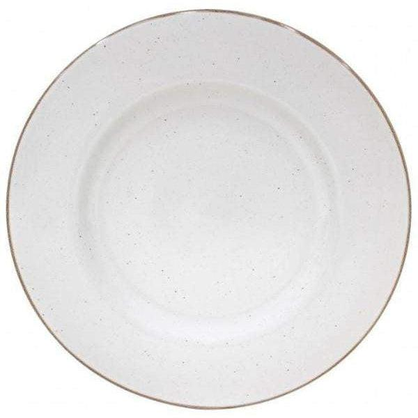 Sardegna Charger Plate: Set of 6 (White)-Plate-Parker Gwen