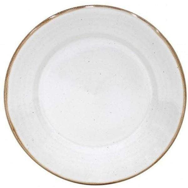 Sardegna Dinner Plate: Set of 6 (White)-Plate-Parker Gwen