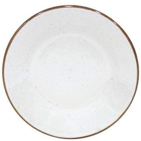 Sardegna Salad Plate: Set of 6 (White)-Plate-Parker Gwen