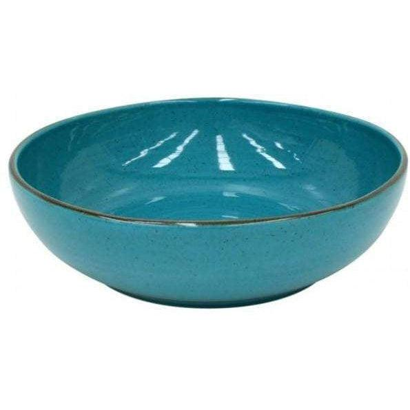 "Sardegna 11.75"" Salad Serving Bowl (Blue) - Parker Gwen"