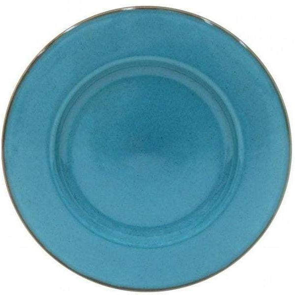 Sardegna Charger Plate: Set of 6 (Blue)-Plate-Parker Gwen