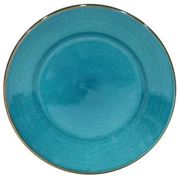 Sardegna Dinner Plate: Set of 6 (Blue)-Plate-Parker Gwen