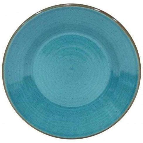 Sardegna Salad Plate: Set of 6 (Blue)-Plate-Parker Gwen