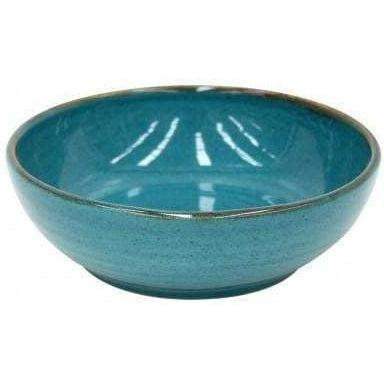 Sardegna 24 oz. Soup/Pasta Bowl: Set of 6 (Blue) - Parker Gwen