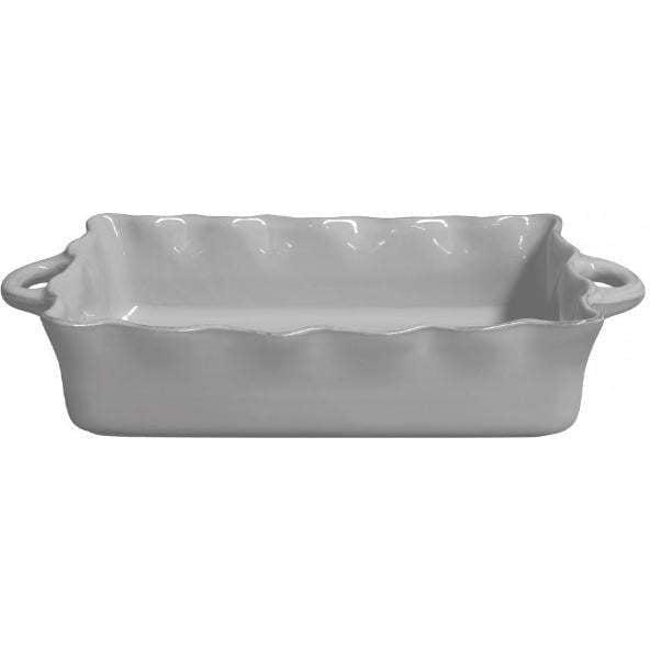 COOK & HOST Large Rectangular Baking Dish (Grey) - Parker Gwen
