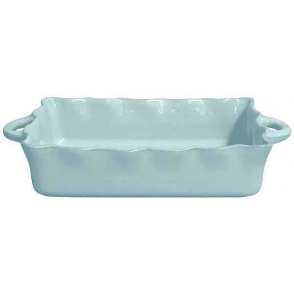 COOK & HOST Large Rectangular Baking Dish (Blue) - Parker Gwen