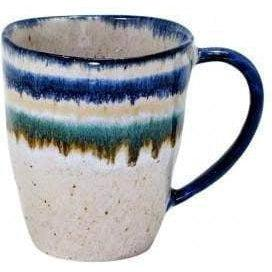 Sausalito Straight Coffee Mug: Set of 6 (White) - Parker Gwen