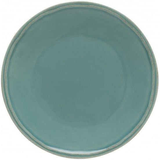 FONTANA SALAD PLATE (Turquoise): Set of 6