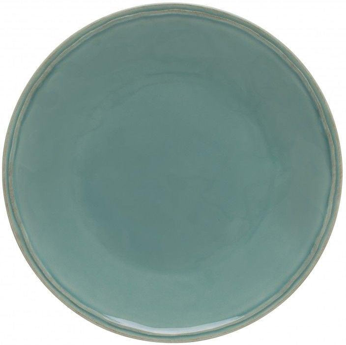 FONTANA DINNER PLATE (Turquoise): Set of 6 | Serving Pieces | parker-gwen.