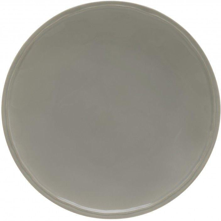 FONTANA DINNER PLATE (Cinza Suave): Set of 6
