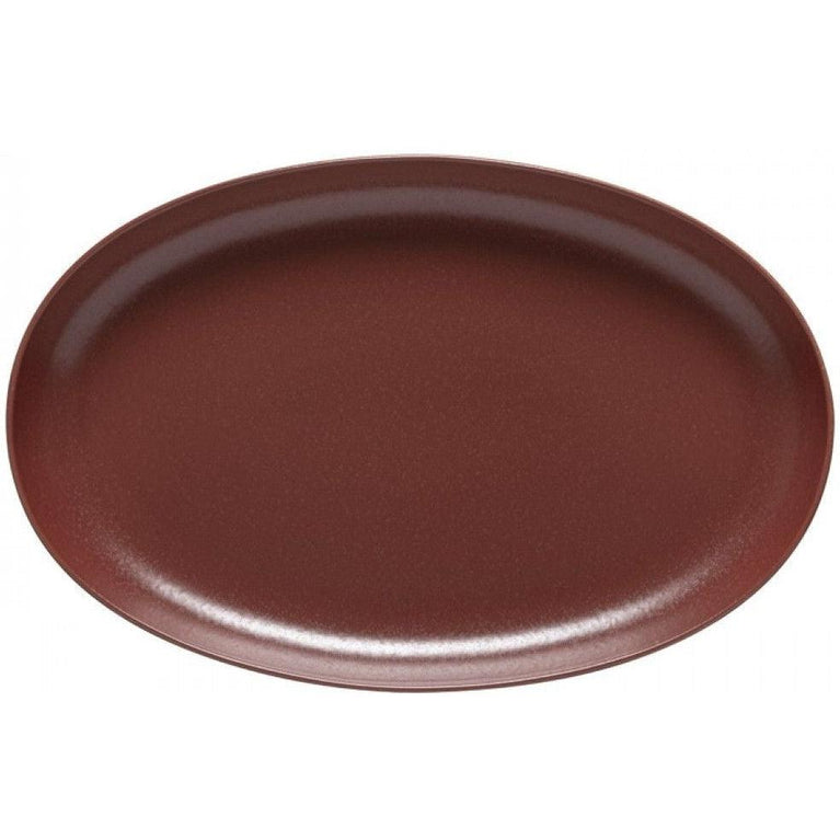 "Pacifica 16"" Oval Platter (Cayenne)"