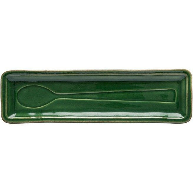 FONTANA SPOON REST (Verde Floresta) | Serving Pieces | parker-gwen.